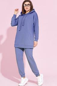 Спортивный костюм Милора-Стиль 857 синие тона
