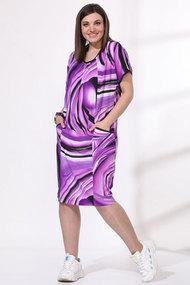Платье Viola Style 0964 сиреневый