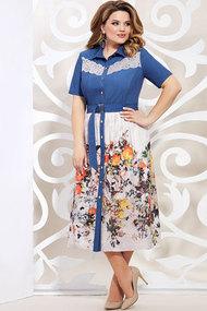 Платье Mira Fashion 4916 мультиколор