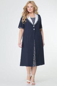 Платье TricoTex Style 8317 синий