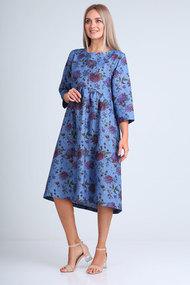 Платье Flovia 4075 синий