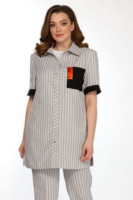 Рубашка Belinga 5105 серый