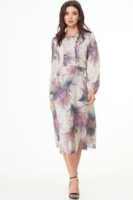 Платье Anelli 1008 Бежевые тона