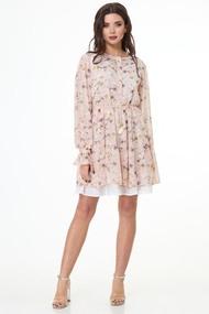 Платье Anelli 1021 Пудра