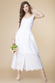 Платье Romanovich style 1-2138 белые тона