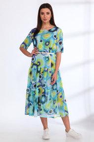 Платье Angelina & Co 539 голубые тона