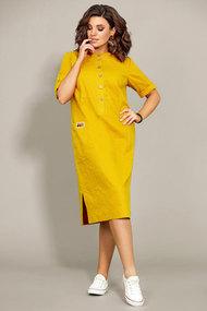 Платье Мублиз 435 желтые тона