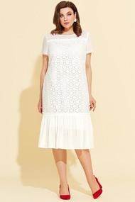 Платье Милора-Стиль 911 Белый