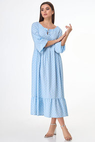 Платье БелЭкспози 1501-1 голубой