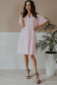 Платье Olga Style М412 Розовый