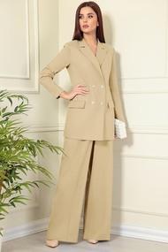 Комплект брючный Andrea Fashion AF-138 Беж