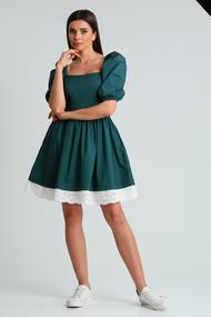 Платье Диамант 1688 зеленый
