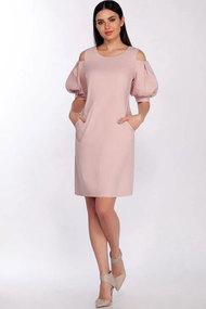 Платье LaKona 1368 пудра