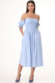Платье Anelli 1032 Голубой