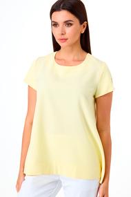 Блузка Anelli 1084 желтый