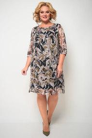 Платье Michel Chic 2065 серые тона