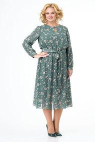 Платье KetisBel 1543 бирюза