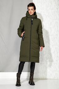 Пальто B&F 4060 хаки