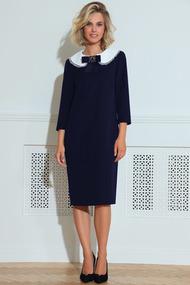 Платье LeNata 11214 темно-синий