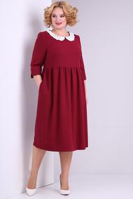 Платье SOVITA 2132 бордовый