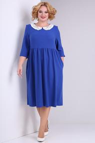 Платье SOVITA 2132 васильковый
