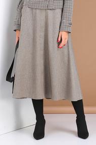 Юбка Viola Style 8109 серый