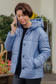 Куртка ТАиЕР 1024 голубые тона