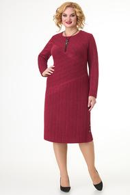 Платье Algranda 3763 красные тона