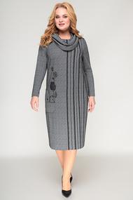 Платье Algranda 3824 серые тона