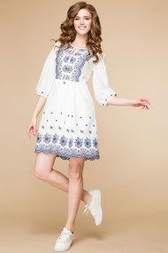 Платье Romanovich style 1-1502 белые тона