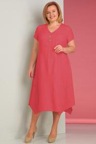 Платье Algranda 2590-к красные тона